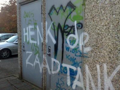 Graffiti verwijdering voor